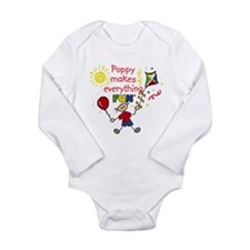 Funny Fun baby Long Sleeve Infant Bodysuit