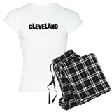 Cleveland Hollywood sign pajamas