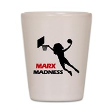Marx Madness Shot Glass