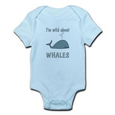 Wild About Whales Infant Bodysuit