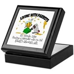 Living With Parrots - Blender Keepsake Box