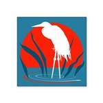 Crane.png Square Sticker 3