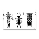Anthropomorphs II Rectangle Car Magnet