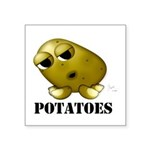 Potatoes Square Sticker 3