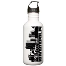 Indianapolis Skyline Water Bottle