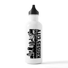 Kansas City Skyline Water Bottle