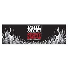 Flame Bumper Sticker
