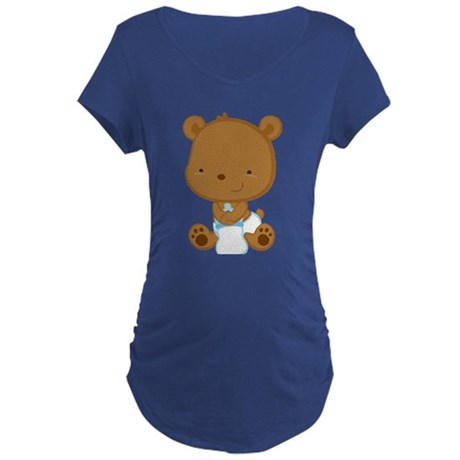 Baby Boy Bear Pregnancy Tee Shirt