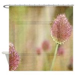 Inspired Pink Floral Shower Curtain