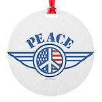 patriotic4.png Round Ornament