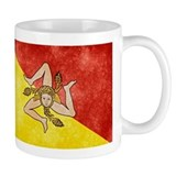 Sicily Flag  Tasse