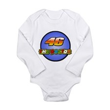 Cute Rossi Long Sleeve Infant Bodysuit
