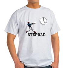 Stepdad, Baseball. T-Shirt