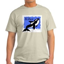 Killer (Orca) Ash Grey T-Shirt