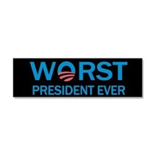 Worst President Ever Car Magnet 10 x 3