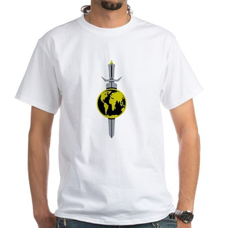 Enterprise Sword White T-Shirt