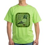Show Racer Portrait Green T-Shirt