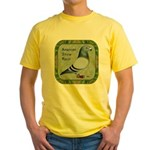 Show Racer Portrait Yellow T-Shirt