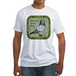 Show Racer Portrait Fitted T-Shirt