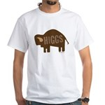 Higgs Bison White T-Shirt