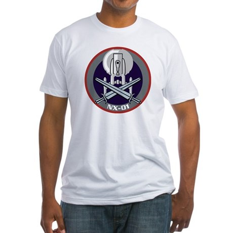 Enterprise NX-01 Fitted T-Shirt