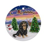 Take Off - Cavalier (BT) Ornament (Round)