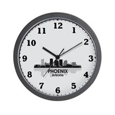 Phoenix Skyline Wall Clock
