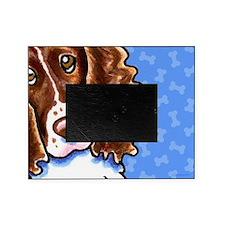 Springer Spaniel Cute Dog Bones Picture Frame