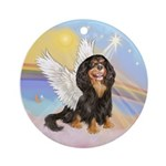 Clouds-Cavalier angel (BT-R) Ornament (Round)
