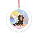 Clouds-Cavalier angel (BT-R) Ornament (Round)