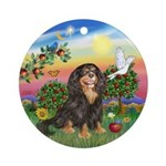 BrightCountry-Cav-BT-R Ornament (Round)