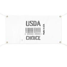 OYOOS USDA Choice Barcode design Banner