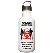 Zombie Defense Serum Water Bottle