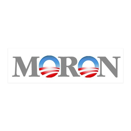 Moron 36x11 Wall Decal