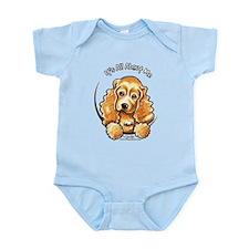 Cocker Spaniel IAAM Infant Bodysuit