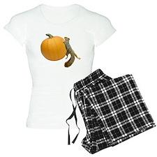 Squirrel Rolling Pumpkin Pajamas