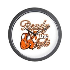 Ready Fight Multiple Sclerosis Wall Clock