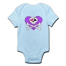 Cute Skull and Crossbones Infant Bodysuit