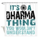 Dharma Thing Shower Curtain