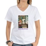 Goldilocks Women's V-Neck T-Shirt