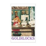 Goldilocks Mini Poster Print