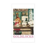 Goldilocks Sticker (Rectangle)