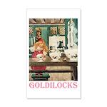 Goldilocks 20x12 Wall Decal
