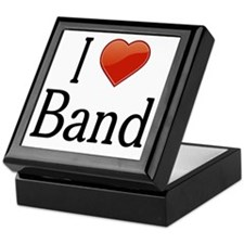 I Love Band Keepsake Box
