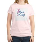 Bad Kitty Women's Pink T-Shirt