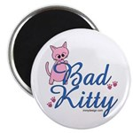 Bad Kitty Magnet