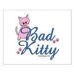Bad Kitty Small Poster