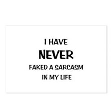 Faked Sarcasm Postcards (Package of 8)