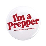 "I'm a Prepper 3.5"" Button (100 pack)"