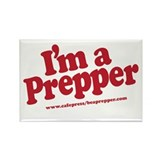 I'm a Prepper Rectangle Magnet (100 pack)